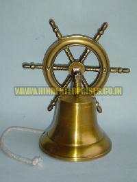Wheel Brass Door Bell HE-18005