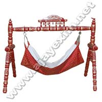 Wooden Baby Jhula