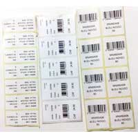 Printed Barcode Stickers