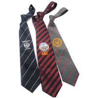 School Ties ( Embroided Ties)