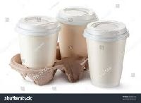 plastic disposable coffee cups