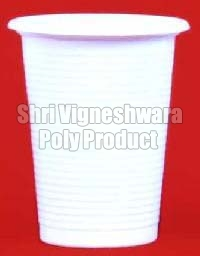Opaque Disposable Water Glass (200ml)