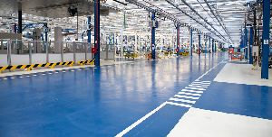 Epoxy Flooring Industrial Plant