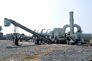 Stationary Asphalt Drum Mix Plant (Model No. - DM - 60)