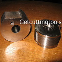 Circular Carbide Brazed Cutting Tool