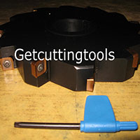 Indexable Radius Side and Face Cutter