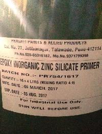 Epoxy Inorganic Zinc Silicate