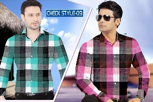 Checkered Shirting Fabric