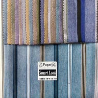 Striped Shirting Fabric