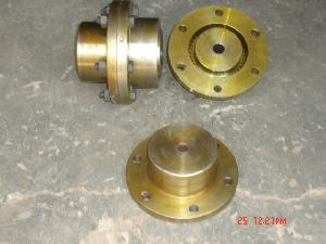Half Gear Half Rigid Couplings