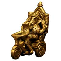 Brass Ganesh Statue (G 122)