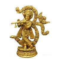 Brass Krishna Statue (K 103)