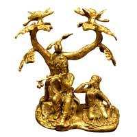 Brass Krishna Statue (RK 112)