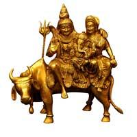 Brass Shiva Statue (SP 102)