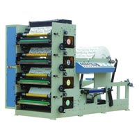 Multi-Color Flexo Printing Machine