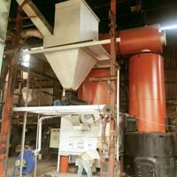 Vertical 4 Pass Thermic Fluid Heater