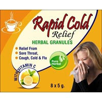 Rapid Cold Relief Herbal Granules