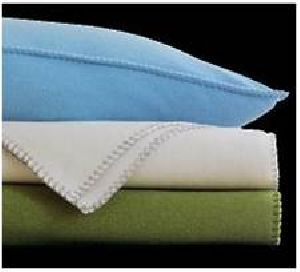 Polar Fleece Plain Blanket 01