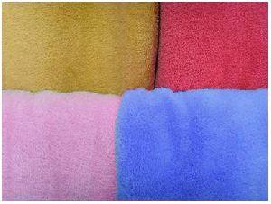 Polar Fleece Plain Blanket 02