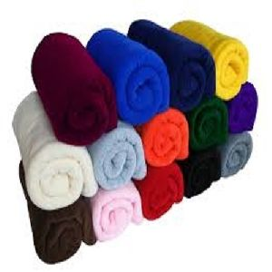 Polar Fleece Plain Blanket 03