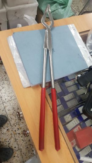 Crucible holder tongs