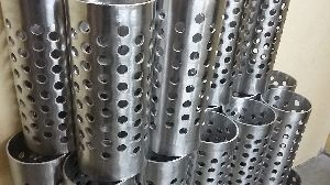 Perforated flask without flange 310 s.s grade