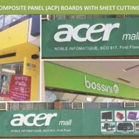 Advertising Acrylic Boards