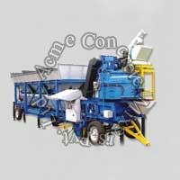 On Wheel Concrete Batching Plant