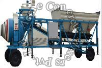 On Wheel RM Concrete Batching Plant