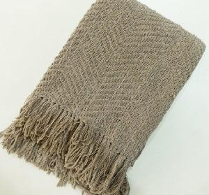 AW-Cotton Chennile Throw - 0040