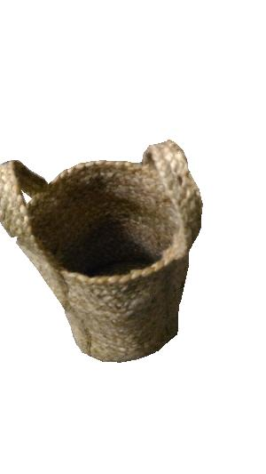 AW-Jute Braided Natural Basket - 011