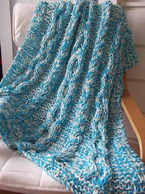 AW-Knitted Throw - 146
