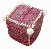 UBS-Woven Pouf-127