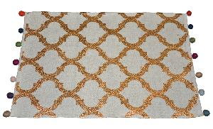 Indoor Foil Printed Rug (0001)