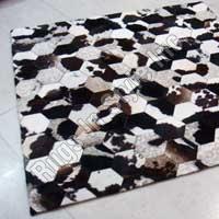 Hexagon Leather Patchwork