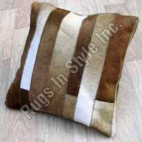 Leather Cushion Stripe Shape