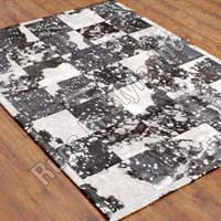 Leather Patchwork With Foil