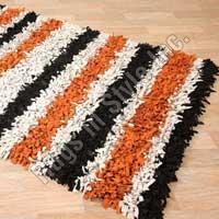 Multi Color Stripe Shag (Wood Stripe)