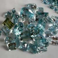 Aquamarine Cut Stone (Aqua - 09)