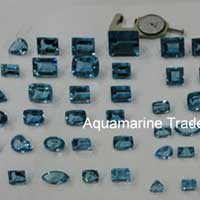 Aquamarine Cut Stone (Aqua - 12)