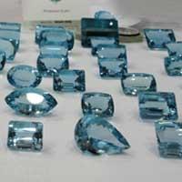 Aquamarine Cut Stone (Aqua - 13)
