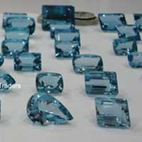 Aquamarine Cut Stone (Aqua - 14)