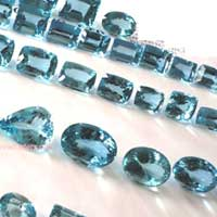 Aquamarine Cut Stone (Aqua - 15)