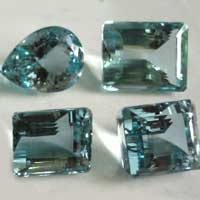 Aquamarine Cut Stone (Aqua - 22)