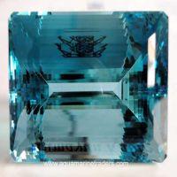 Aquamarine Cut Stone (Aqua - 32)