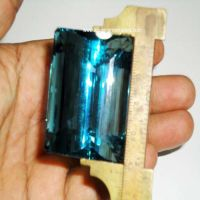 Aquamarine Cut Stone (Aqua - 33)