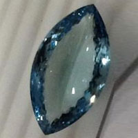 Aquamarine Cut Stone (Aqua - 35)
