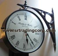Double Sided Wall Clock in 12 Inches