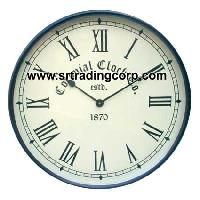 Iron Wall Clock 01