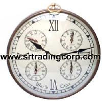 Iron Wall Clock - (02)